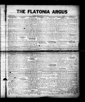 The Flatonia Argus (Flatonia, Tex.), Vol. 60, No. 21, Ed. 1 Thursday, May 23, 1935