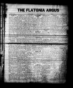 The Flatonia Argus (Flatonia, Tex.), Vol. 60, No. 9, Ed. 1 Thursday, February 28, 1935