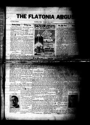 The Flatonia Argus (Flatonia, Tex.), Vol. 58, No. [5], Ed. 1 Thursday, February 2, 1933