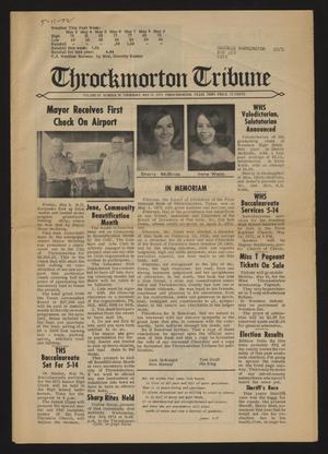 Throckmorton Tribune (Throckmorton, Tex.), Vol. 83, No. 39, Ed. 1 Thursday, May 11, 1972