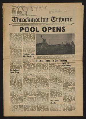 Throckmorton Tribune (Throckmorton, Tex.), Vol. 84, No. 3, Ed. 1 Thursday, August 31, 1972