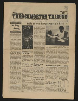 Throckmorton Tribune (Throckmorton, Tex.), Vol. 85, No. 1, Ed. 1 Thursday, August 21, 1975