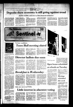 The Seminole Sentinel (Seminole, Tex.), Vol. 75, No. 100, Ed. 1 Sunday, October 17, 1982