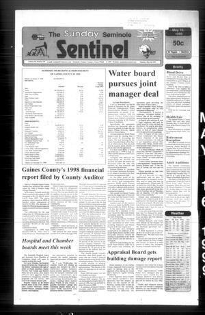 The Seminole Sentinel (Seminole, Tex.), Vol. 92, No. 60, Ed. 1 Sunday, May 16, 1999