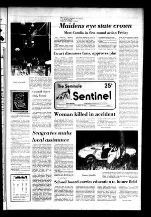 The Seminole Sentinel (Seminole, Tex.), Vol. 76, No. 9, Ed. 1 Thursday, November 18, 1982