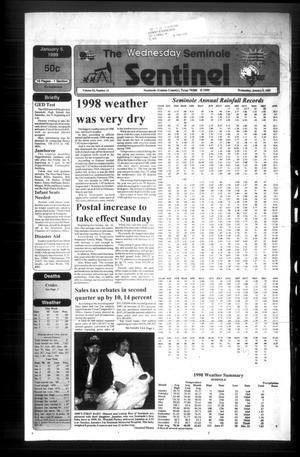 The Seminole Sentinel (Seminole, Tex.), Vol. 92, No. 23, Ed. 1 Wednesday, January 6, 1999