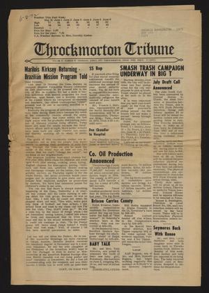 Throckmorton Tribune (Throckmorton, Tex.), Vol. 83, No. 43, Ed. 1 Thursday, June 8, 1972