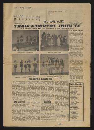 Throckmorton Tribune (Throckmorton, Tex.), Vol. 83, No. 32, Ed. 1 Thursday, March 23, 1972