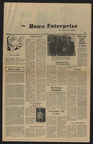 Primary view of object titled 'The Howe Enterprise (Howe, Tex.), Vol. 18, No. 24, Ed. 1 Thursday, December 9, 1982'.