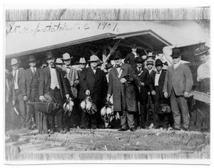 Primary view of object titled 'Hunters in Corpus Christi'.