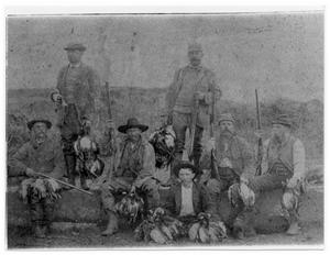 Primary view of object titled 'Hunters at Gum Hollow'.