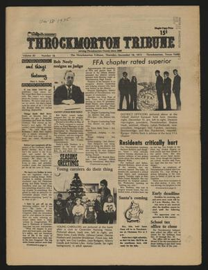 Throckmorton Tribune (Throckmorton, Tex.), Vol. 85, No. 18, Ed. 1 Thursday, December 18, 1975