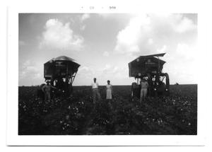 Primary view of object titled '[Cotton Picking Equipment]'.