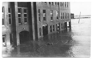 Primary view of object titled '[Flood Waters at Hospital]'.