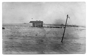 [Flood Waters at Residence]