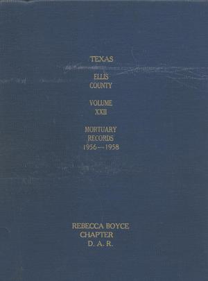 Texas Genealogical Records, Ellis County, Volume 22