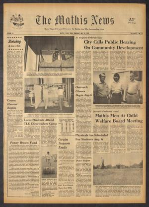 Primary view of The Mathis News (Mathis, Tex.), Vol. 52, No. 31, Ed. 1 Thursday, July 31, 1975