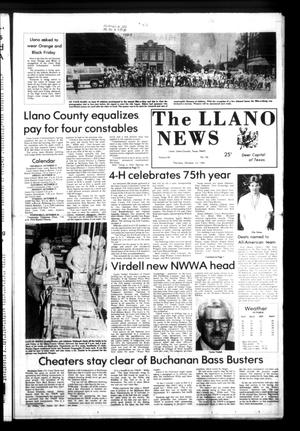 Primary view of object titled 'The Llano News (Llano, Tex.), Vol. 92, No. 50, Ed. 1 Thursday, October 13, 1983'.