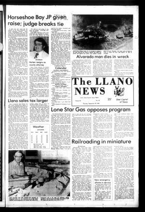 The Llano News (Llano, Tex.), Vol. 92, No. 46, Ed. 1 Thursday, September 29, 1983