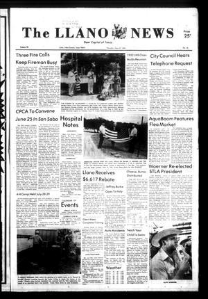 The Llano News (Llano, Tex.), Vol. 92, No. 34, Ed. 1 Thursday, June 23, 1983