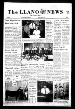 The Llano News (Llano, Tex.), Vol. 92, No. 18, Ed. 1 Thursday, March 3, 1983