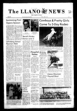 The Llano News (Llano, Tex.), Vol. 92, No. 31, Ed. 1 Thursday, June 2, 1983
