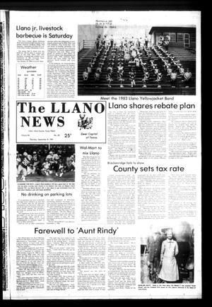 The Llano News (Llano, Tex.), Vol. 92, No. 45, Ed. 1 Thursday, September 8, 1983