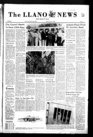 Primary view of object titled 'The Llano News (Llano, Tex.), Vol. 92, No. 19, Ed. 1 Thursday, March 10, 1983'.