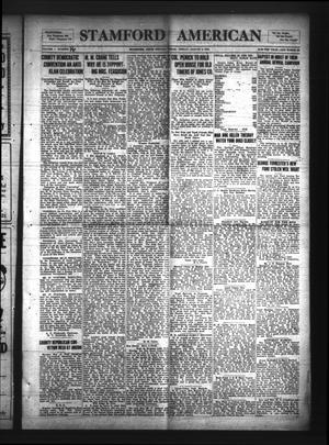 Stamford American (Stamford, Tex.), Vol. 1, No. 16, Ed. 1 Friday, August 8, 1924