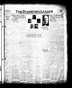 The Stamford Leader (Stamford, Tex.), Vol. 35, No. 24, Ed. 1 Friday, March 20, 1936
