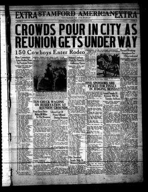 Stamford American (Stamford, Tex.), Vol. 10, No. 12, Ed. 1 Monday, July 3, 1933