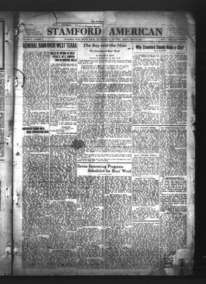 Stamford American (Stamford, Tex.), Vol. 2, No. 1, Ed. 1 Friday, April 24, 1925