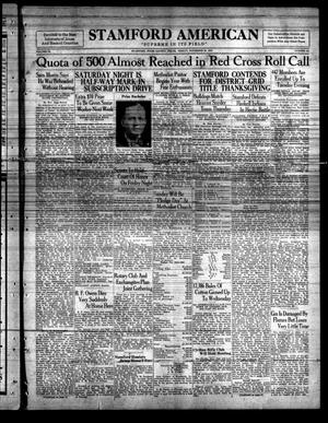Stamford American (Stamford, Tex.), Vol. 9, No. 33, Ed. 1 Friday, November 25, 1932