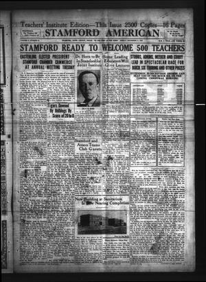 Stamford American (Stamford, Tex.), Vol. 2, No. 34, Ed. 1 Friday, December 11, 1925