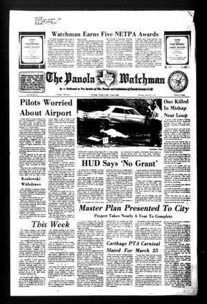 The Panola Watchman (Carthage, Tex.), Vol. 104, No. 18, Ed. 1 Thursday, March 17, 1977