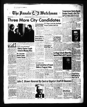The Panola Watchman (Carthage, Tex.), Vol. 81, No. 12, Ed. 1 Thursday, March 4, 1954