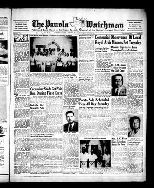 The Panola Watchman (Carthage, Tex.), Vol. 80, No. 27, Ed. 1 Thursday, June 18, 1953
