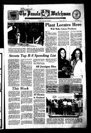 The Panola Watchman (Carthage, Tex.), Vol. 104, No. 23, Ed. 1 Thursday, April 21, 1977