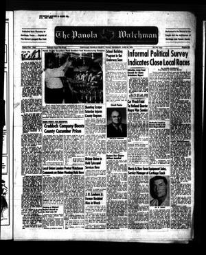 The Panola Watchman (Carthage, Tex.), Vol. 81, No. 28, Ed. 1 Thursday, June 24, 1954