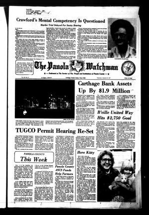 The Panola Watchman (Carthage, Tex.), Vol. 104, No. 10, Ed. 1 Thursday, January 20, 1977
