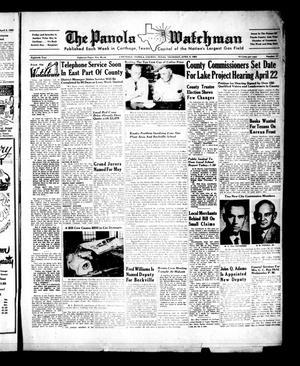 The Panola Watchman (Carthage, Tex.), Vol. 80, No. 17, Ed. 1 Thursday, April 9, 1953