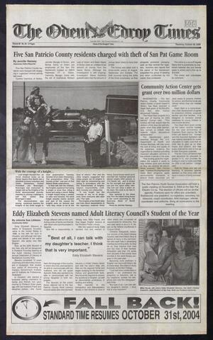 Primary view of The Odem-Edroy Times (Odem, Tex.), Vol. 58, No. 43, Ed. 1 Thursday, October 28, 2004