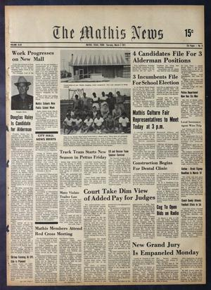 The Mathis News (Mathis, Tex.), Vol. 48, No. 9, Ed. 1 Thursday, March 2, 1972