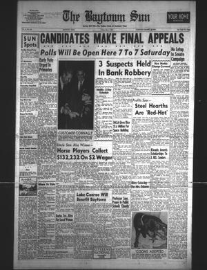 Primary view of The Baytown Sun (Baytown, Tex.), Vol. 41, No. 189, Ed. 1 Friday, May 1, 1964