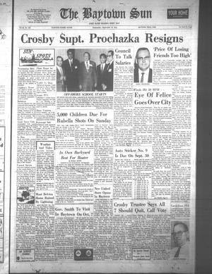 The Baytown Sun (Baytown, Tex.), Vol. 48, No. 305, Ed. 1 Wednesday, September 16, 1970