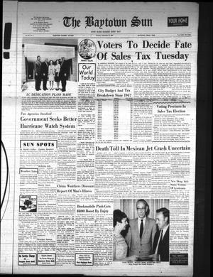 The Baytown Sun (Baytown, Tex.), Vol. 48, No. 4, Ed. 1 Monday, September 22, 1969