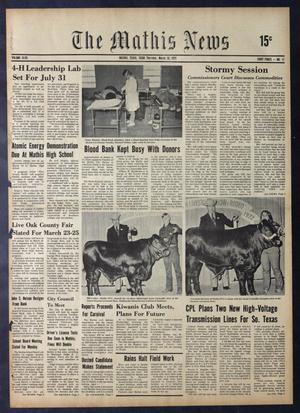 The Mathis News (Mathis, Tex.), Vol. 48, No. 11, Ed. 1 Thursday, March 16, 1972