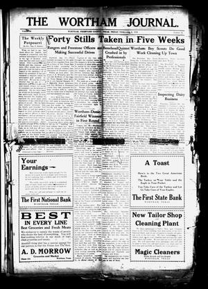 The Wortham Journal. (Wortham, Tex.), Vol. 29, No. 40, Ed. 1 Friday, February 3, 1928