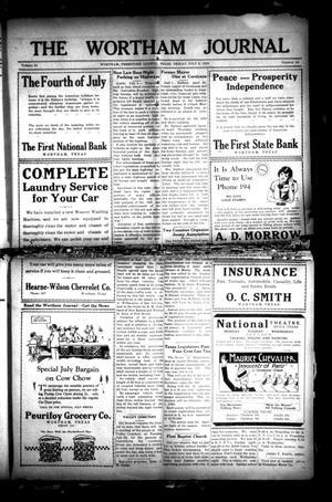 The Wortham Journal (Wortham, Tex.), Vol. 31, No. 10, Ed. 1 Friday, July 5, 1929