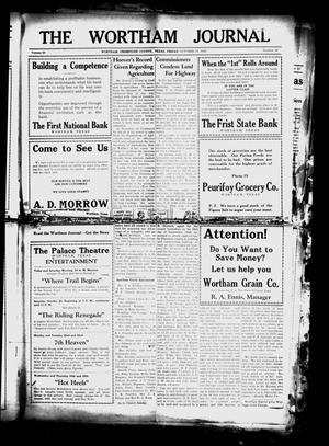 The Wortham Journal (Wortham, Tex.), Vol. 30, No. 25, Ed. 1 Friday, October 19, 1928